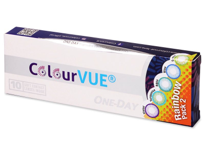 ColourVue One Day TruBlends Rainbow (10 lenses)