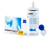 Carl Zeiss Contact Day 30 Spheric (6 lenses) + Laim-Care Solution 400 ml
