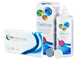 TopVue Monthly Plus (6 lenses) + Gelone Solution 360 ml