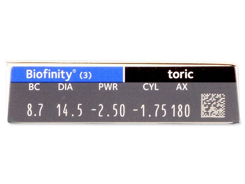 Biofinity Toric (3lenses)