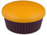 Alensa.co.uk - Contact lenses - Lens Case with mirror Muffin - orange