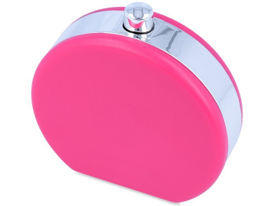 Lens Case with Flask Shape - Pink