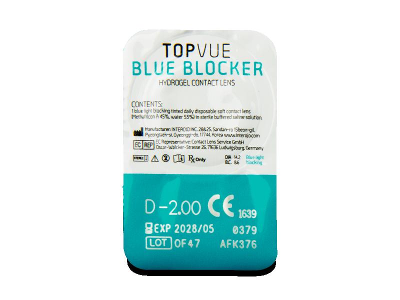 TopVue Blue Blocker (30 lenses)