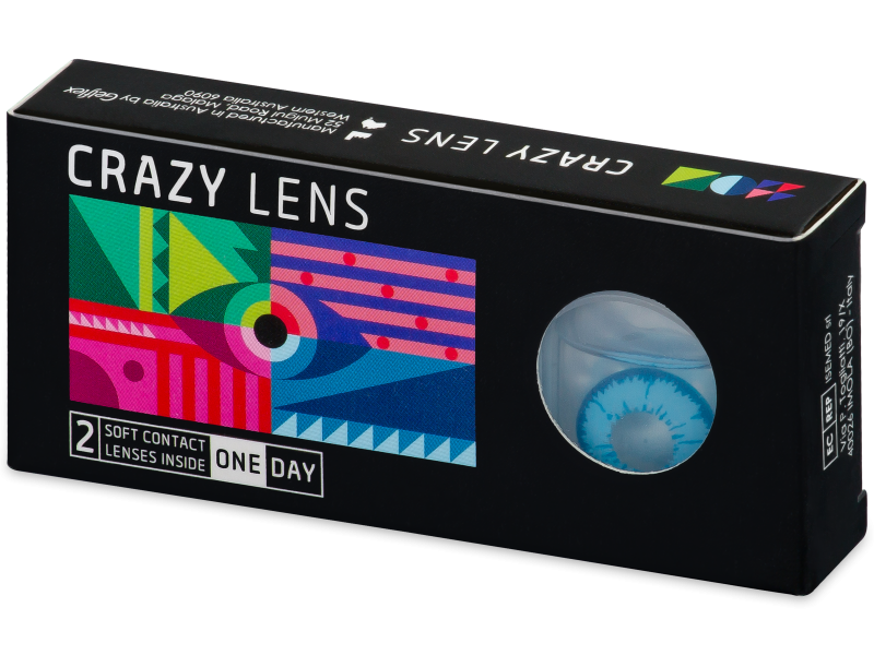 CRAZY LENS - Night King - power (2 daily coloured lenses)