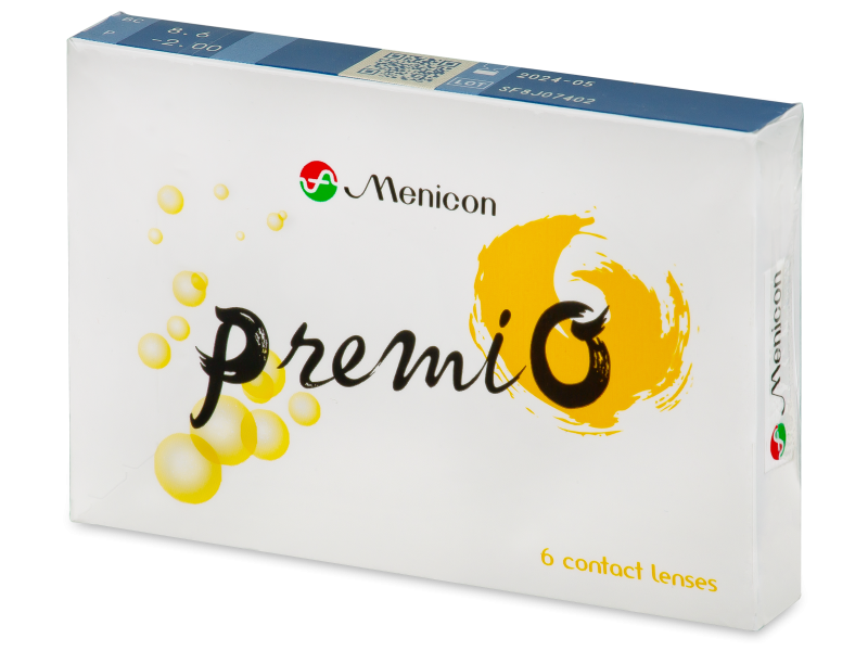 Menicon PremiO (6 lenses)