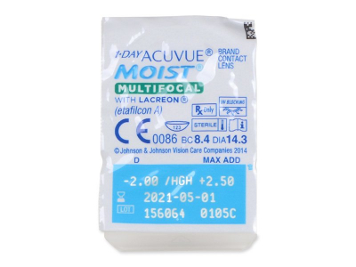 1 Day Acuvue Moist Multifocal (90 lenses)