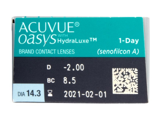 Acuvue Oasys 1-Day (30 lenses)