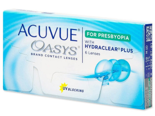 Acuvue Oasys for Presbyopia (6 lenses) - Johnson and Johnson