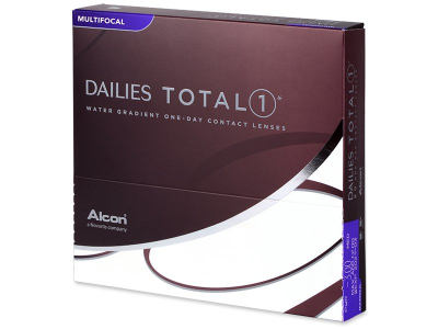 Dailies TOTAL1 Contact Lenses Multifocal (90 lenses)