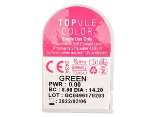 TopVue Color Daily - plano (10 lenses)