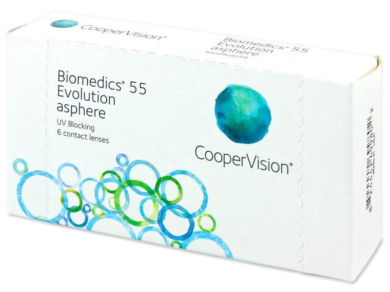 d6d58fa732 Biomedics 55 Evolution (6 lenses) | Alensa UK