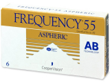 Alensa.co.uk - Contact lenses - Frequency 55 Aspheric