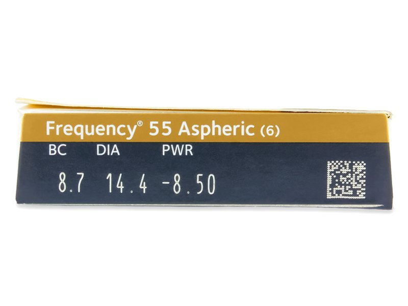 Frequency 55 Aspheric (6 lenses)