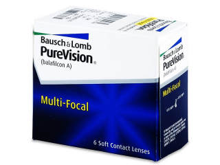 PureVision Multi-Focal (6 lenses) - Bausch and Lomb
