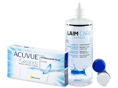 Acuvue Oasys (6 lenses) + Laim-Care Solution 400ml