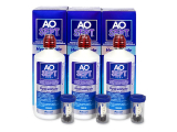Alensa.co.uk - Contact lenses - AO SEPT PLUS HydraGlyde Solution 3 x 360 ml